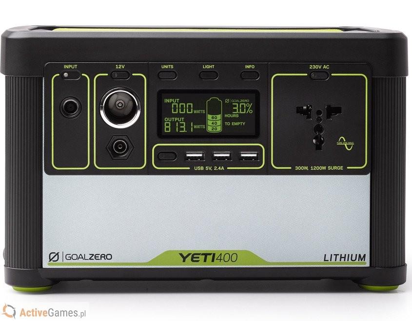 Goal Zero stacja energii przenośna Yeti 400 Lithium