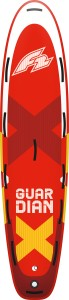 Deska SUP F2 Guardian 11.8 red