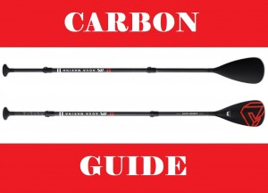 Profejsonalne wiosło do SUP - 850g - CARBON GUIDE