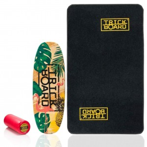 Trickboard Optimal Flaming + Dywan z Logo