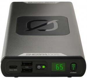 Goal Zero - Power Bank Sherpa 100PD