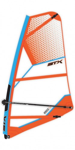 windsufring wakacje 2018 STX-MiniKid-Windsurf-Rig-Orange-Blue.jpg